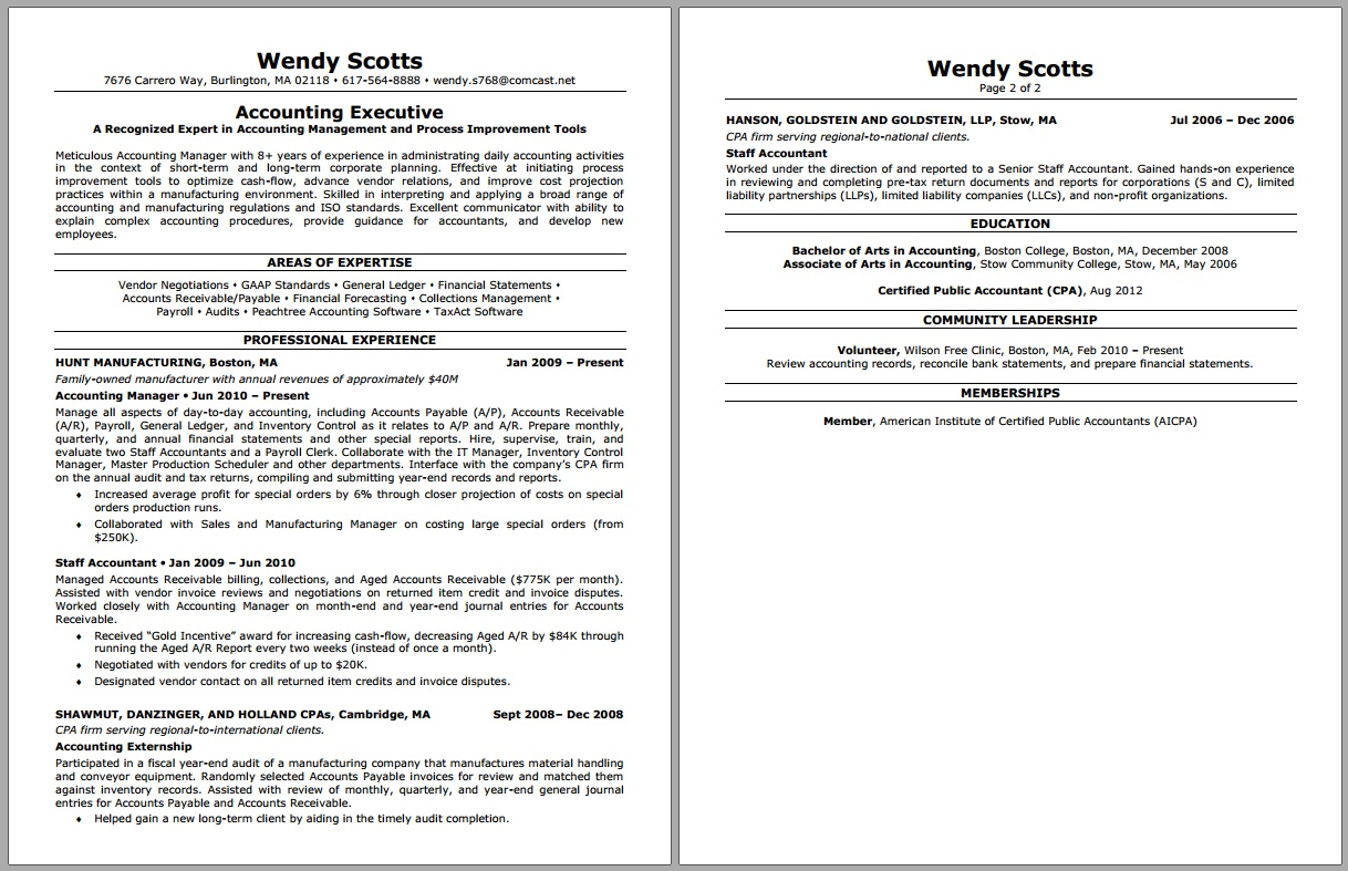 resume makeovers  samples