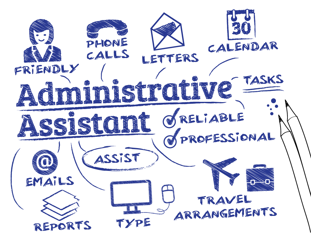 administrative assistant job highlights