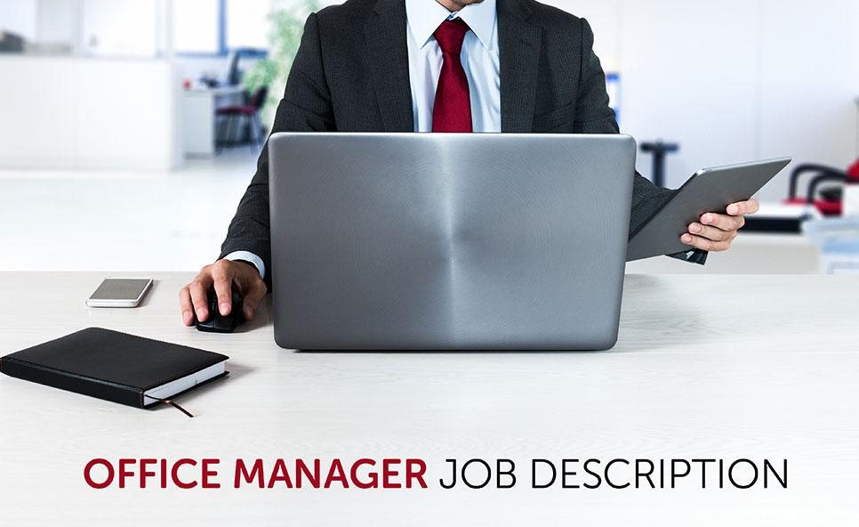 Office Manager Job Description