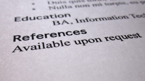 Career Challenges: References