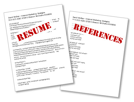 resume_references